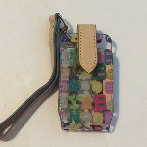 Dooney & Bourke Small Cellphone Case Clear